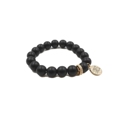 Eternity Collection Coal Bracelet