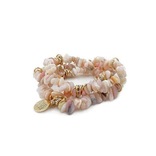 Cluster Collection Seashell Party Bracelet