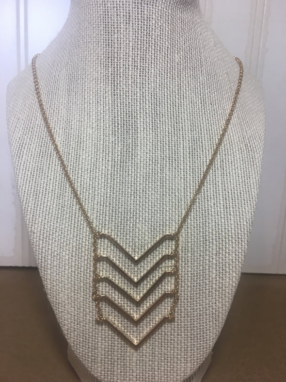 Simply Unconnected Necklace