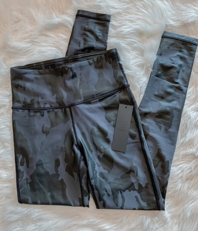 Camo Foil Leggings