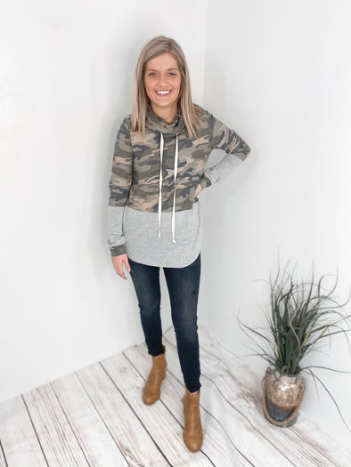 Army Block Sweatshirt