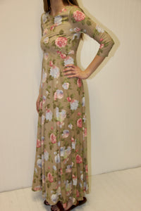 Florence Sueded Maxi Dress
