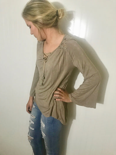 Mary's Perfect Open Back Tunic