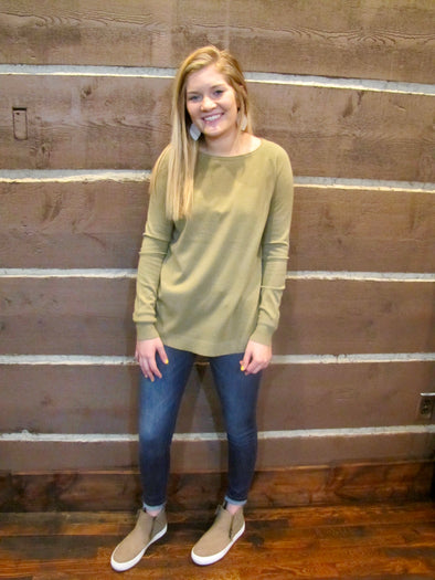Basic Boatneck Sweater