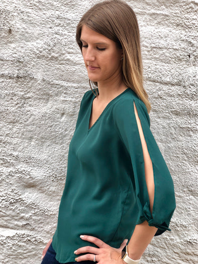 Forest Elegance Top