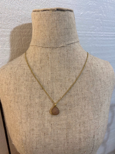 Mocha Gem Necklace