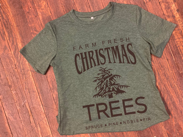 Christmas Trees Graphic Tee