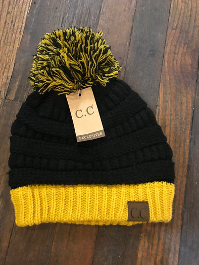Black & Gold CC Hat