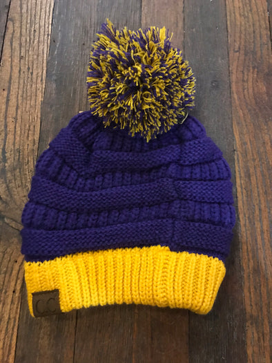 Purple & Gold CC Hat