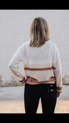 Autumn Color Block Sweater