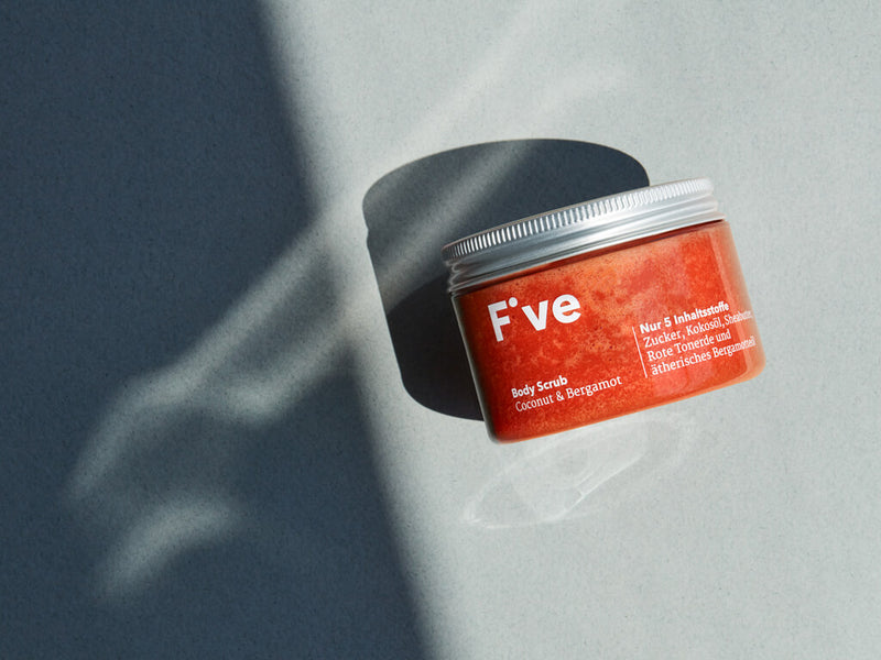 FIVE Body Scrub Coconut & Bergamot: Körperpeeling | Five Skincare