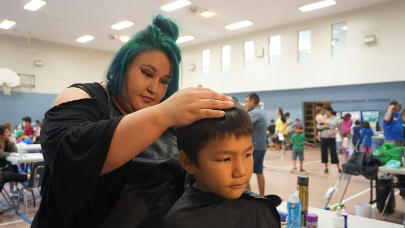 Destiny Starlight Hair Dresser and Community Volunteer
