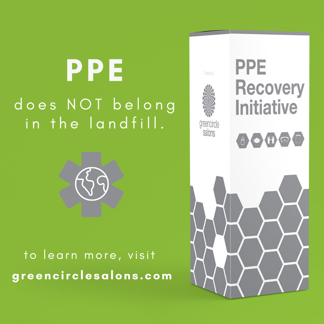 green circle salons PPE recovery program