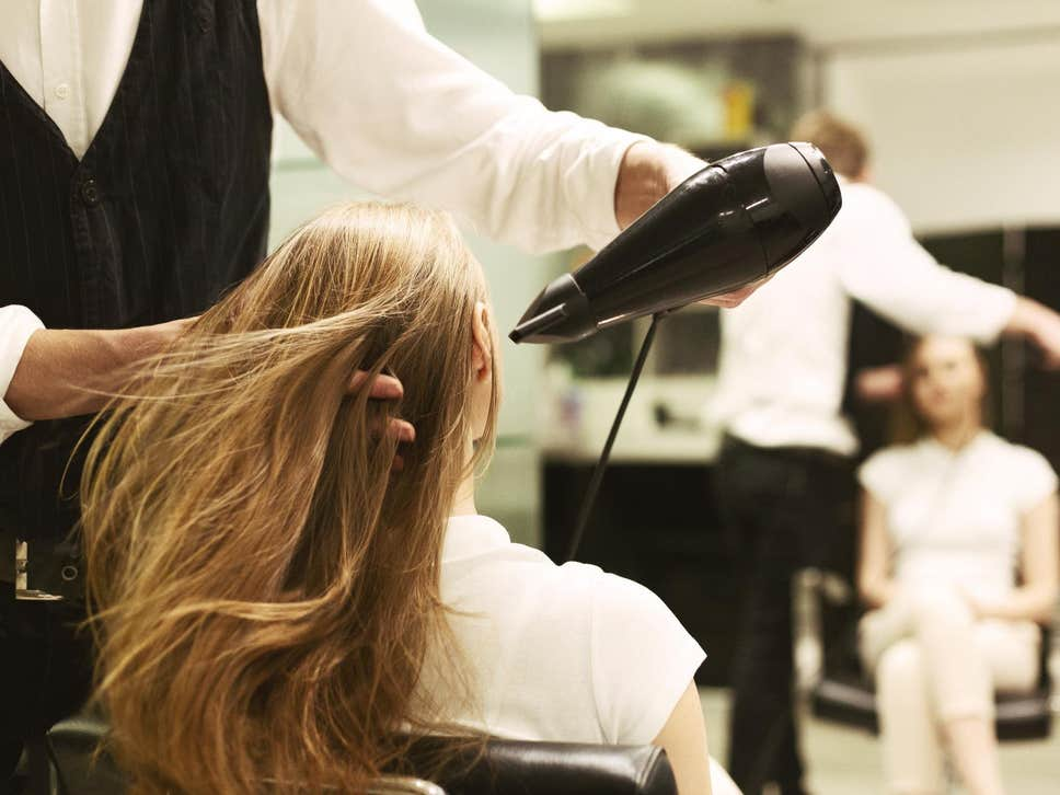 silent hair salon services