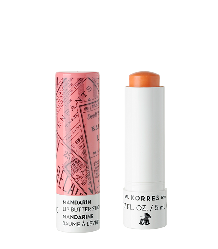 Korres - Mandarin Lip Butter Stick - SPF15 Peach