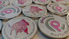 Pinkcoin Collectors Challenge Coin - 1,000,000+ Pink