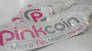 Pinkcoin Stickers