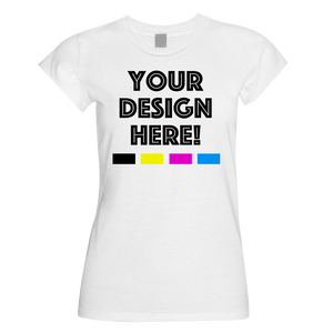 Custom Design | Ladies Fitted T-Shirt