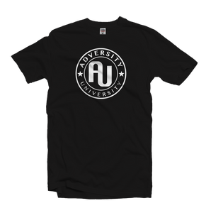 Adversity University Logo Outline T-Shirt