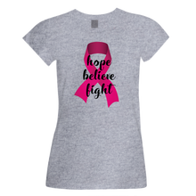 Hope, Believe, Fight (Breast Cancer Awareness)