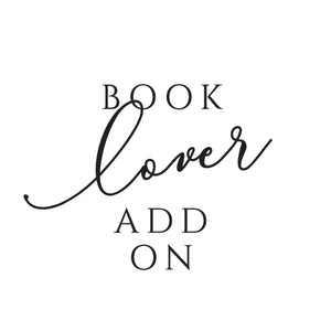 Book Lover Add on