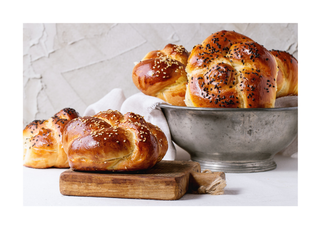 Challah Roll - 4 Pack