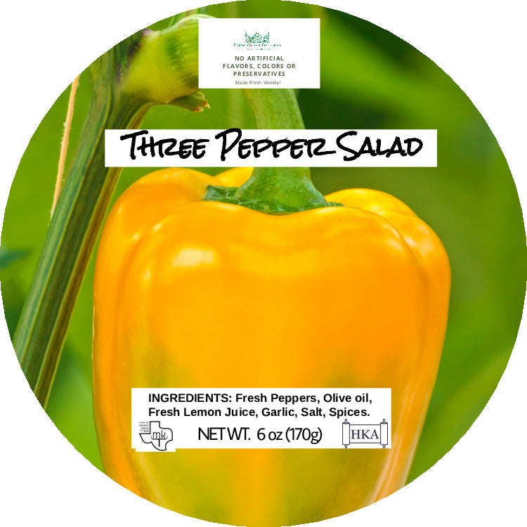 Three Pepper Salad
