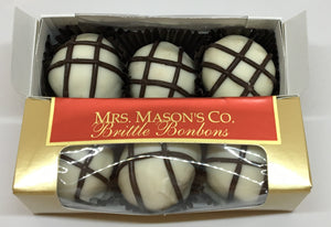 White Chocolate Macadamia Brittle Bonbons