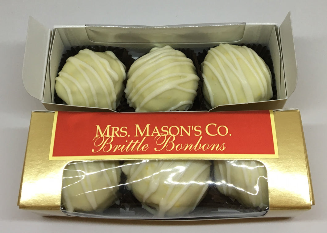 Lemon Allure Brittle Bonbons