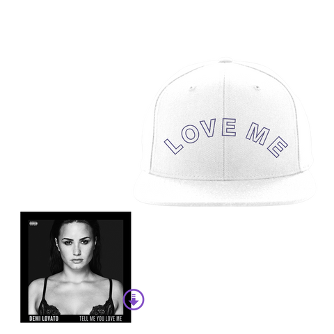 White Snapback Hat + Digital Album