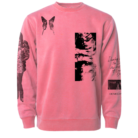 Dancing with the Devil... The Art of Starting Over Pink Crewneck