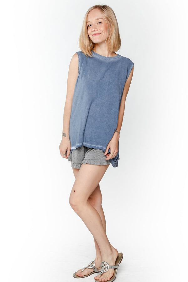 Twisted Open-Back T-Shirt