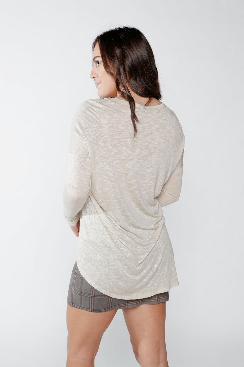 Olivaceous Khaki Long Sleeve
