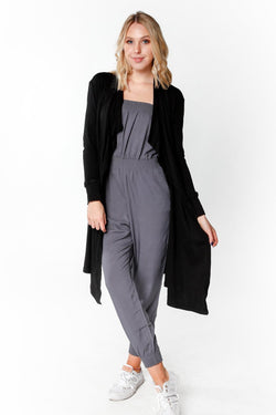 Lightweight Black Cardigan