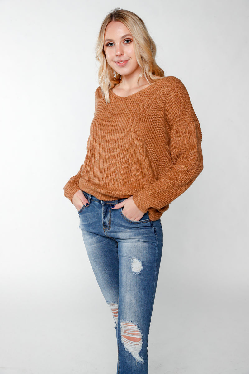 Toffee  Sweater