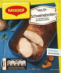 Maggi Pork Roast Schweinebraten Mix