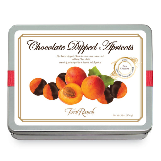 Torn Ranch Chocolate Dipped Apricots Tin