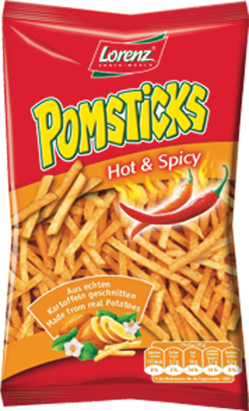 Lorenz Hot and Spicy Pomsticks - EuropeanDeli.com