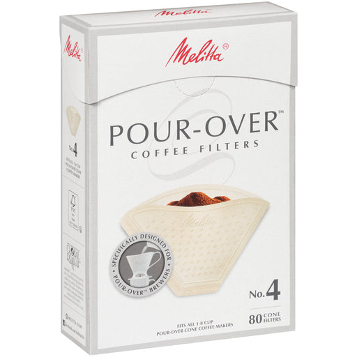 Melitta Pour-Over Cone Coffee Filters - EuropeanDeli.com