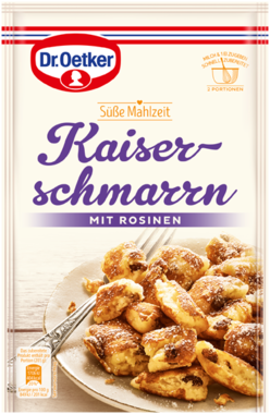 Dr. Oetker Kaiserschmarrn with Raisins