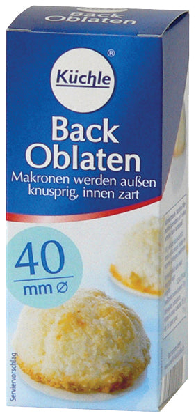 Kuchle 40mm Back Oblaten Baking Wafers