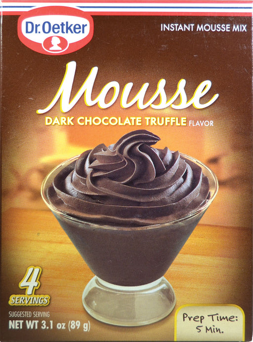 Dr Oetker Dark Truffle Chocolate Mousse