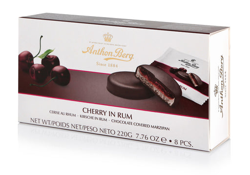 Anthon Berg Chocolate with Marzipan & Cherry in Rum Filling - European Deli