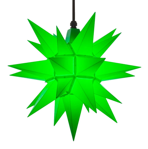 Herrnhuter A4 Plastic Green Star - 40cm/16in - European Deli