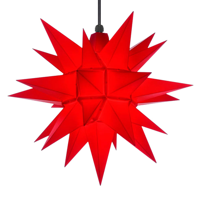 Herrnhuter A4 Plastic Red Star - 40cm/16in - European Deli