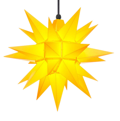 Herrnhuter A4 Plastic Yellow Star - 40cm/16in - European Deli
