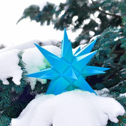 Herrnhuter A4 Plastic Blue Star - 40cm/16in - European Deli
