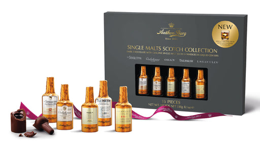 Anthon Berg Chocolate Bottle Single Malt Scotch Collection - 15 pieces - European Deli