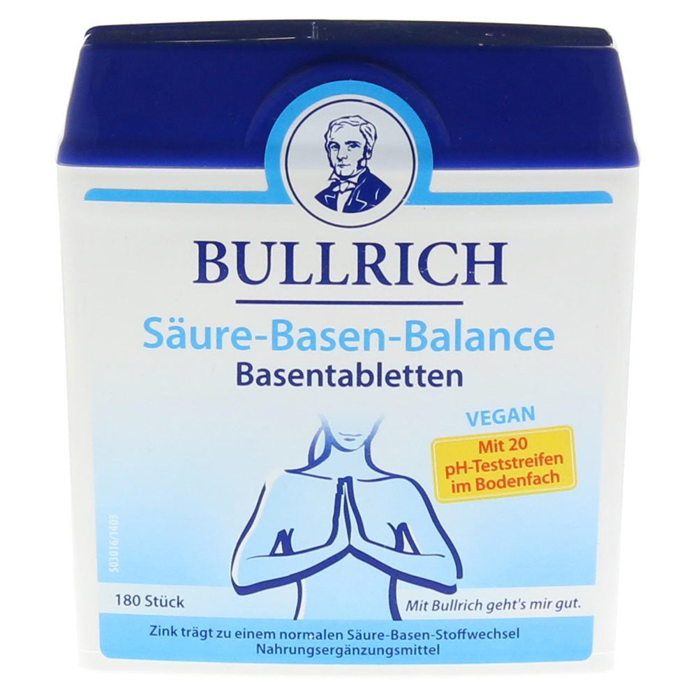 Bullrich Acid-base Balance Base Tablets - EuropeanDeli.com
