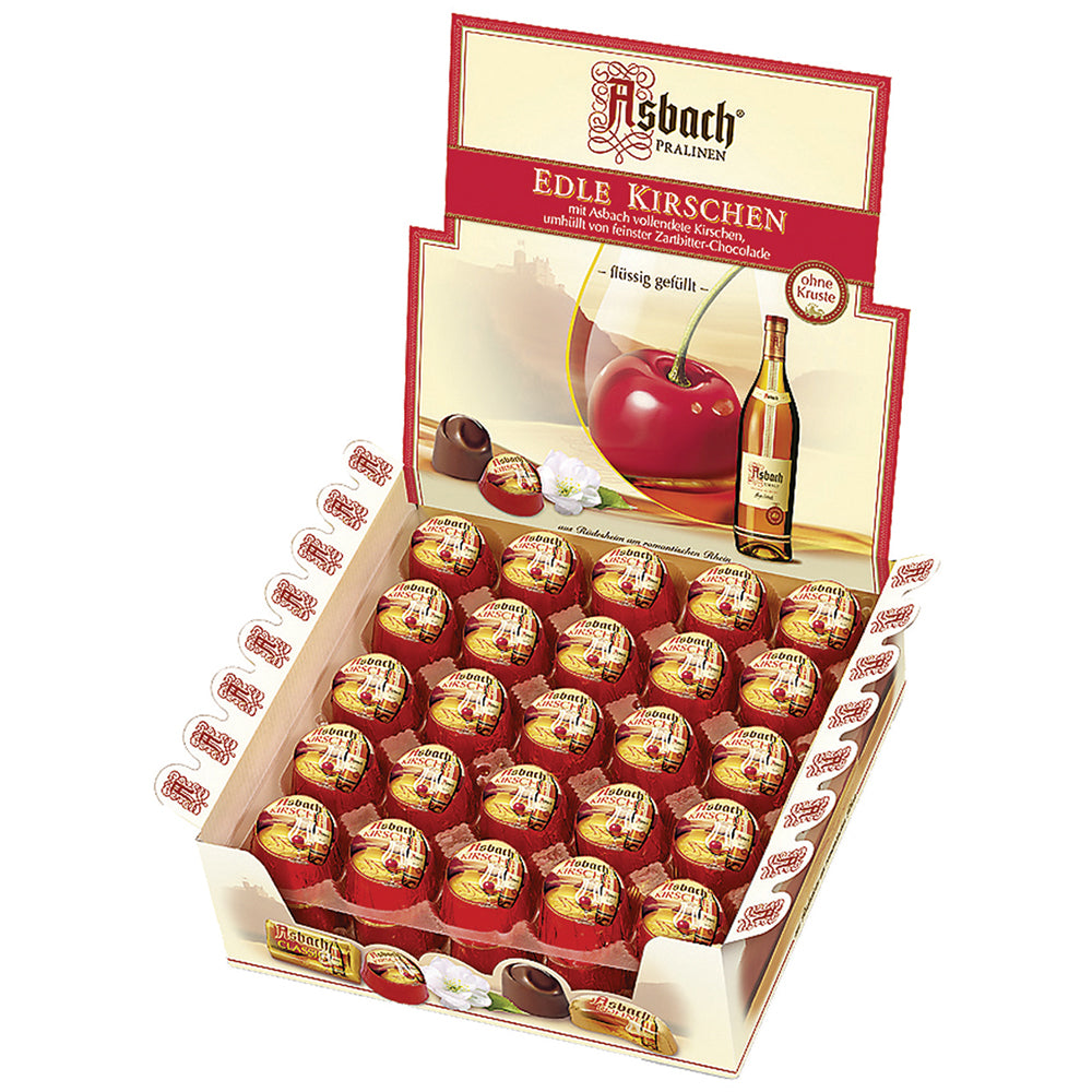 Asbach Cherries in Counter Display Box - European Deli
